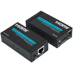 4k HDMI Extender over CAT6 / CAT7 Network Cable up to 60 Meters – HDMI v2.0