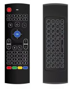 MX3 Wireless Remote with Backlight 2.4 GHz Gyroscope Keyboard / Air Mouse