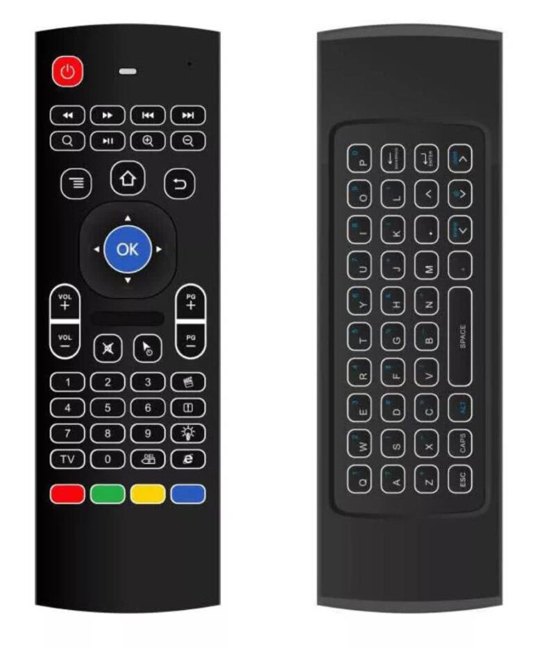 MX3 Wireless Remote with Backlight 2.4 GHz Gyroscope Keyboard / Air Mouse 1