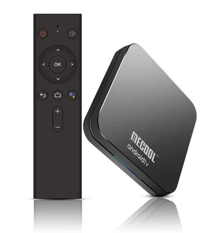 MeCool KM9 Pro TV Box 4k Ultra HD AndroidTV 9.0 Google Certified Media Player - DSTV Now 1
