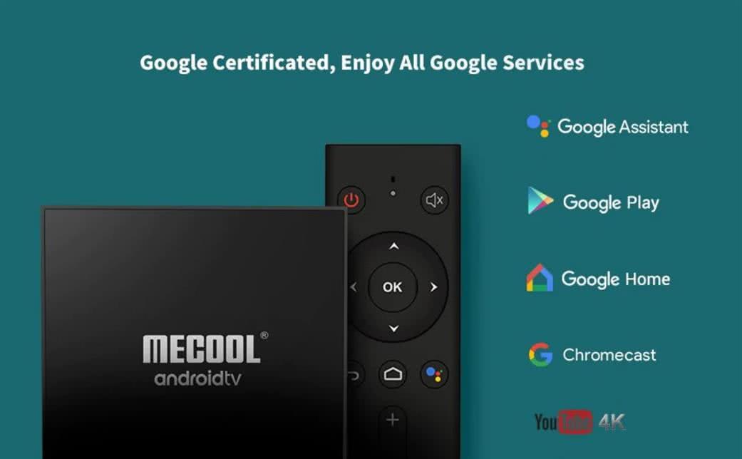 MeCool KM9 Pro TV Box 4k Ultra HD AndroidTV 9.0 Google Certified Media Player - DSTV Now 5