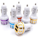 Dual USB Car Charger 5V 2.1A – Auto Charger Adapter