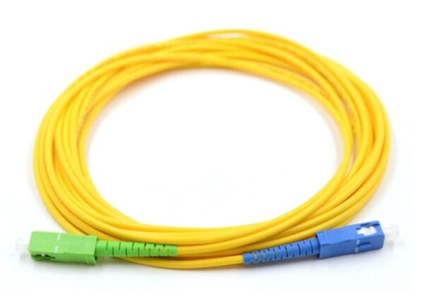 10 Meter Simplex Fiber Cable SC to SC | Single Mode 3mm | Fiber Drop Cable 9/125um
