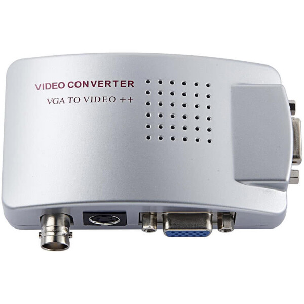 VGA to BNC Converter with S Video Output