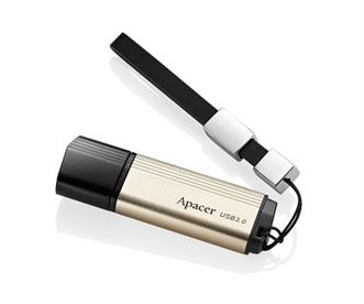 Apacer AH353 64GB USB 3 Flash Drive - Fast Read/Write speeds up to 113MB/s