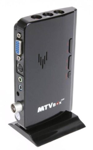 External TV Tuner | Analogue RF to VGA Converter with UHF/VHF Scanner | RCA to VGA Converter