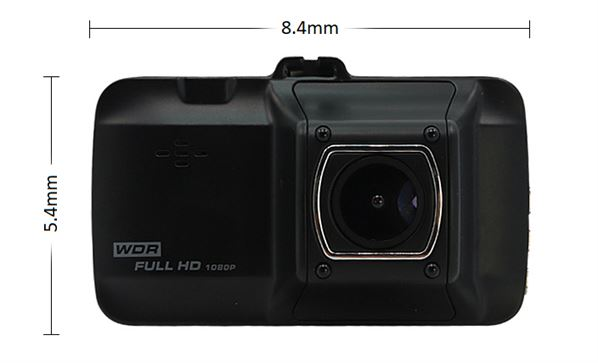 "FullHD 1080p 3"" Display Car Dash Camera DVR / Driving Recorder with Night Vision"