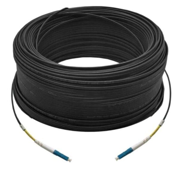 150M Simplex Single Mode UPC LC-LC Fiber Optic Cable | Fiber Patch Cord | Outdoor Drop Cable