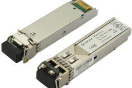 20km Single Mode Dual LC 1.25Gbit 1310nm Gigabit SFP Transceiver Module | Cisco, Huawei, Dell Compatible