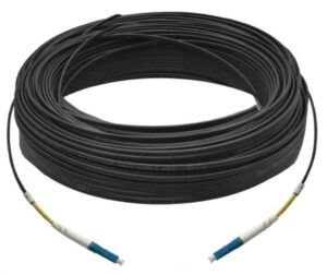 30M Simplex Single Mode UPC LC-LC Fiber Optic Cable | Fiber Patch Cord | Outdoor Drop Cable