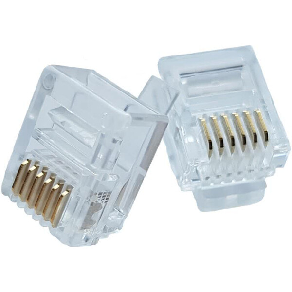 6 Pin RJ12 Connector | 6P6C Crimp-on