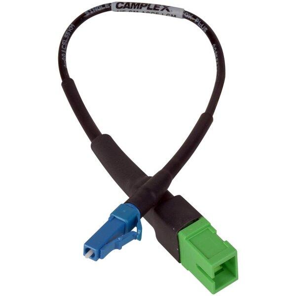 Female APC SC to LC Adapter Cable | SC Single Mode Fiber to Male UPC LC Fiber