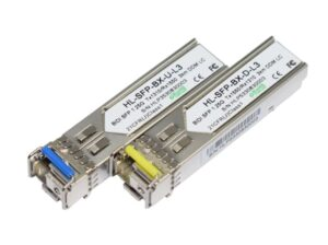3km Single Mode Bi-Directional SFP Transceiver Module SET | Cisco Huawei Dell Compatible | 1000BaseBX BiDi SFP