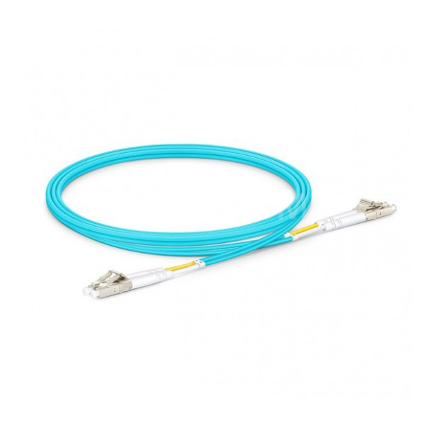 1M Duplex MultiMode OM3 Fiber Cable | UPC LC-LC Fiber Cable | Fiber Patch Cord