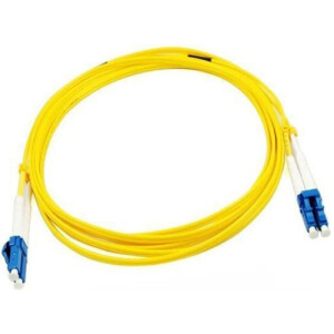 1M Duplex Single Mode UPC LC-LC Fiber Cable | Fiber Optic Patch Cord