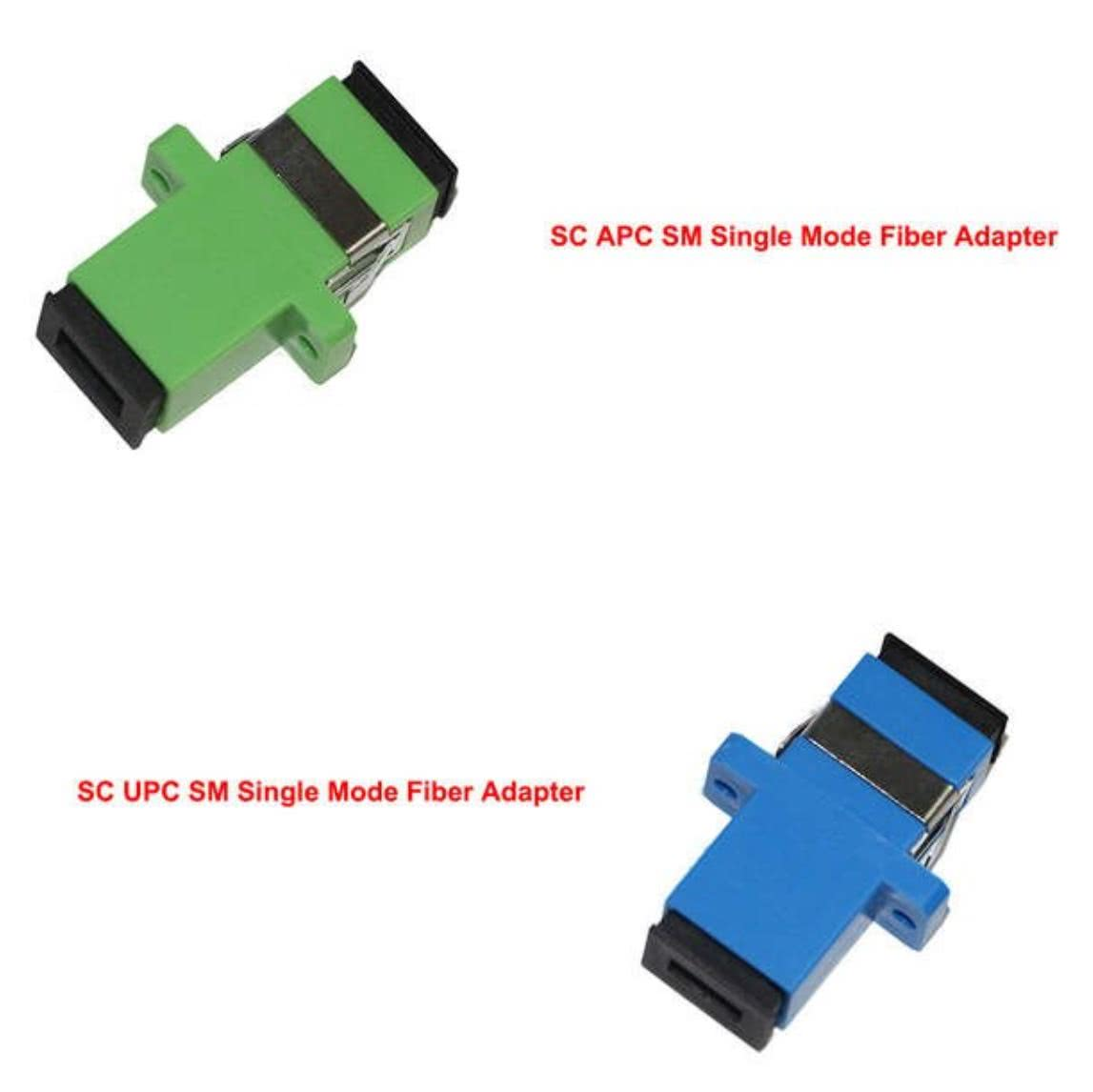Simplex Single Mode SC UPC to SC UPC Fiber Optic Cable Joiner | Fiber SC UPC Coupler