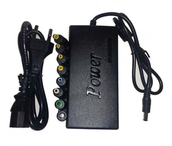 120 Watt Universal Laptop Charger with Various DC Adapters Inserts