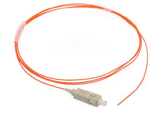 1 Meter SC Connector Multimode Simplex Fiber Optic Pigtail Cable