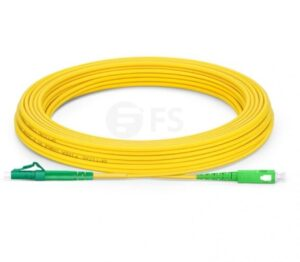 10 Meter APC SC to LC Simplex Single Mode Fiber Optic Cable   Fiber Cable for Router