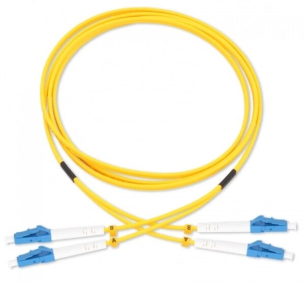 Dual Cable | Duplex Single Mode UPC LC-LC Fiber Cable | Various Lengths Fiber Patch Leads