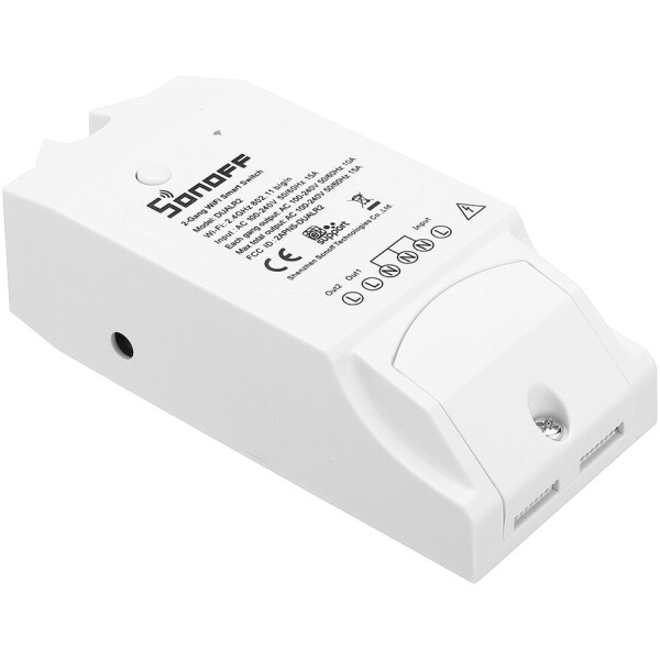 Sonoff DUAL Wireless Programmable Wifi Switch – On/Off/Timer for Home Automation