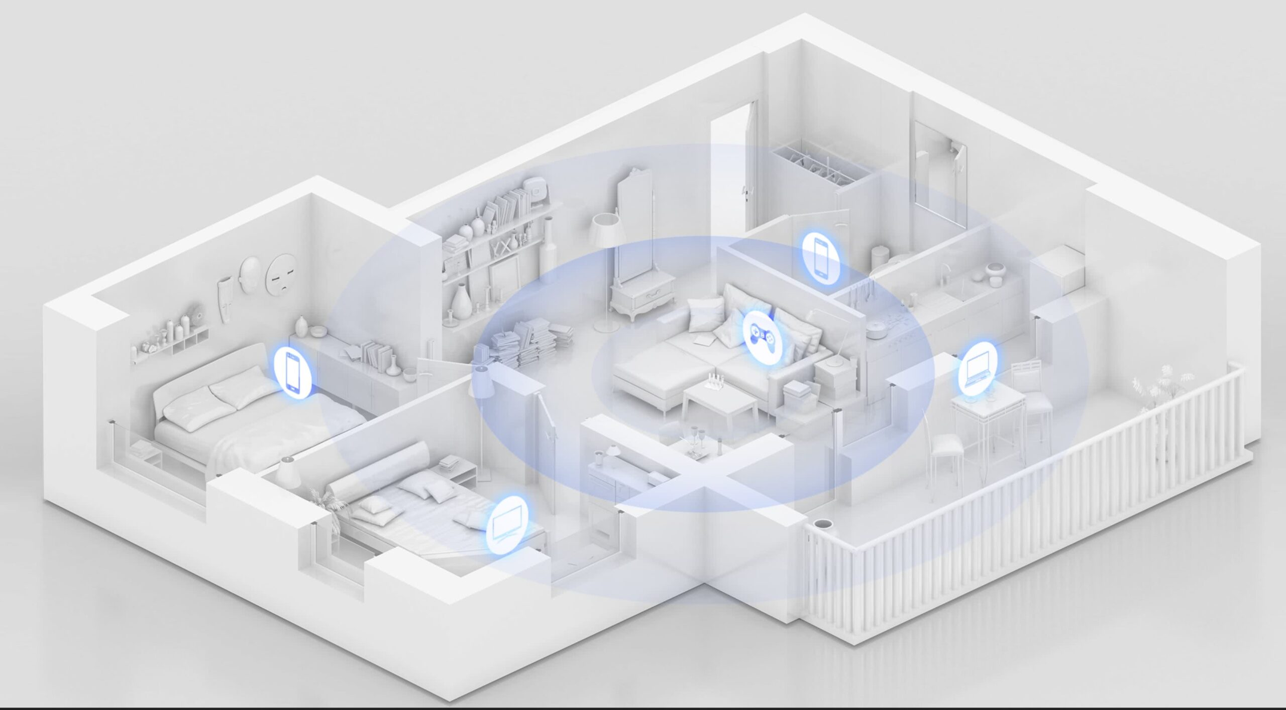 Huawei AX3 Dual-Core Wifi 6 Router | 3000 Mbps | Wi-Fi 6 Plus | OFDMA Multi-User
