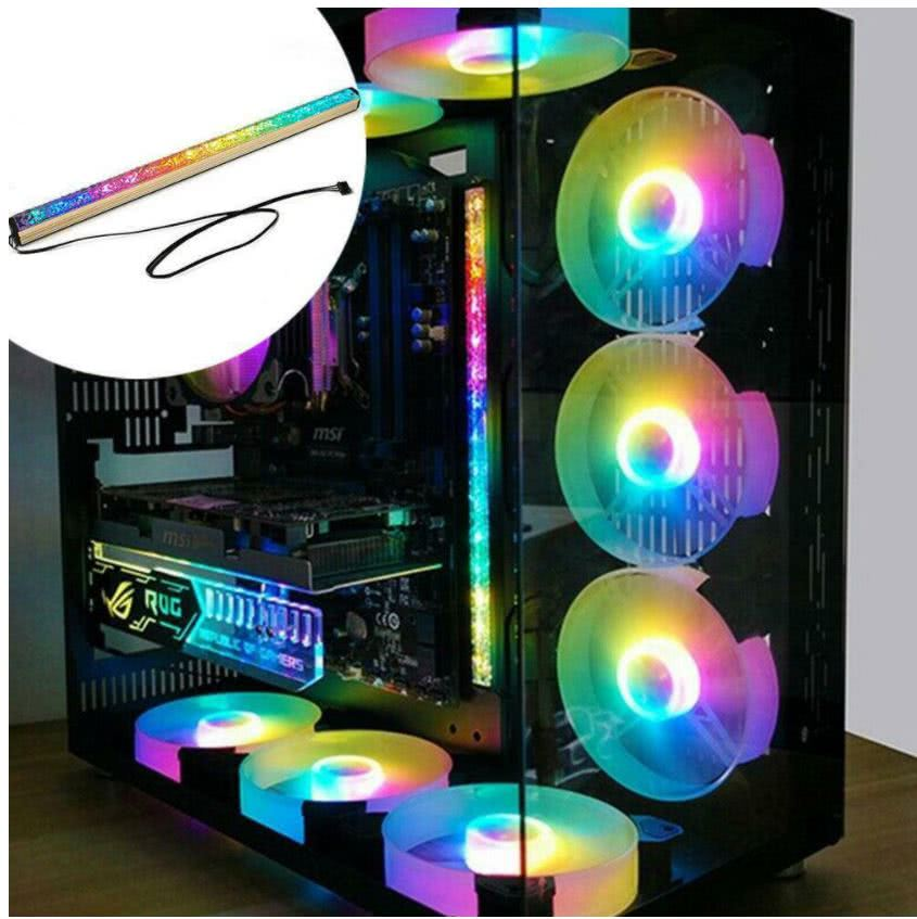Aluminium Magnetic PC LED Light Bar | RGB Case Lightning | CoolMoon