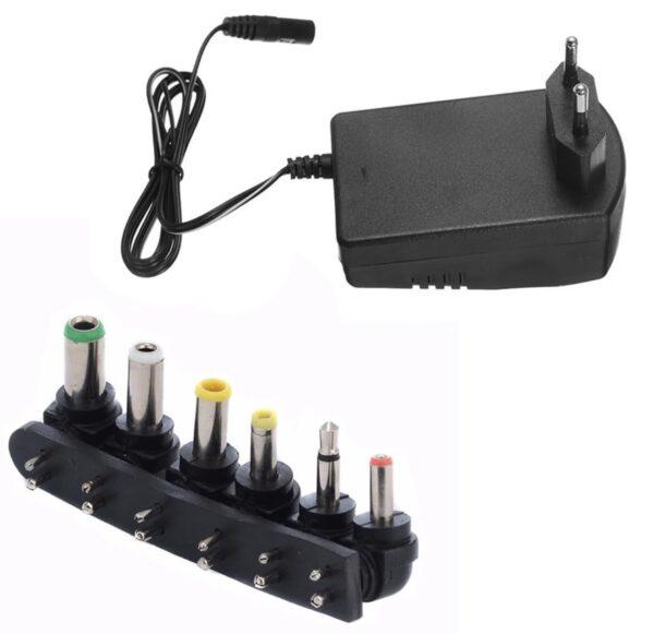 30 Watt Universal AC DC Power Adapter for Hard drives   SLX Splitters   Routers   3v – 12 Volt