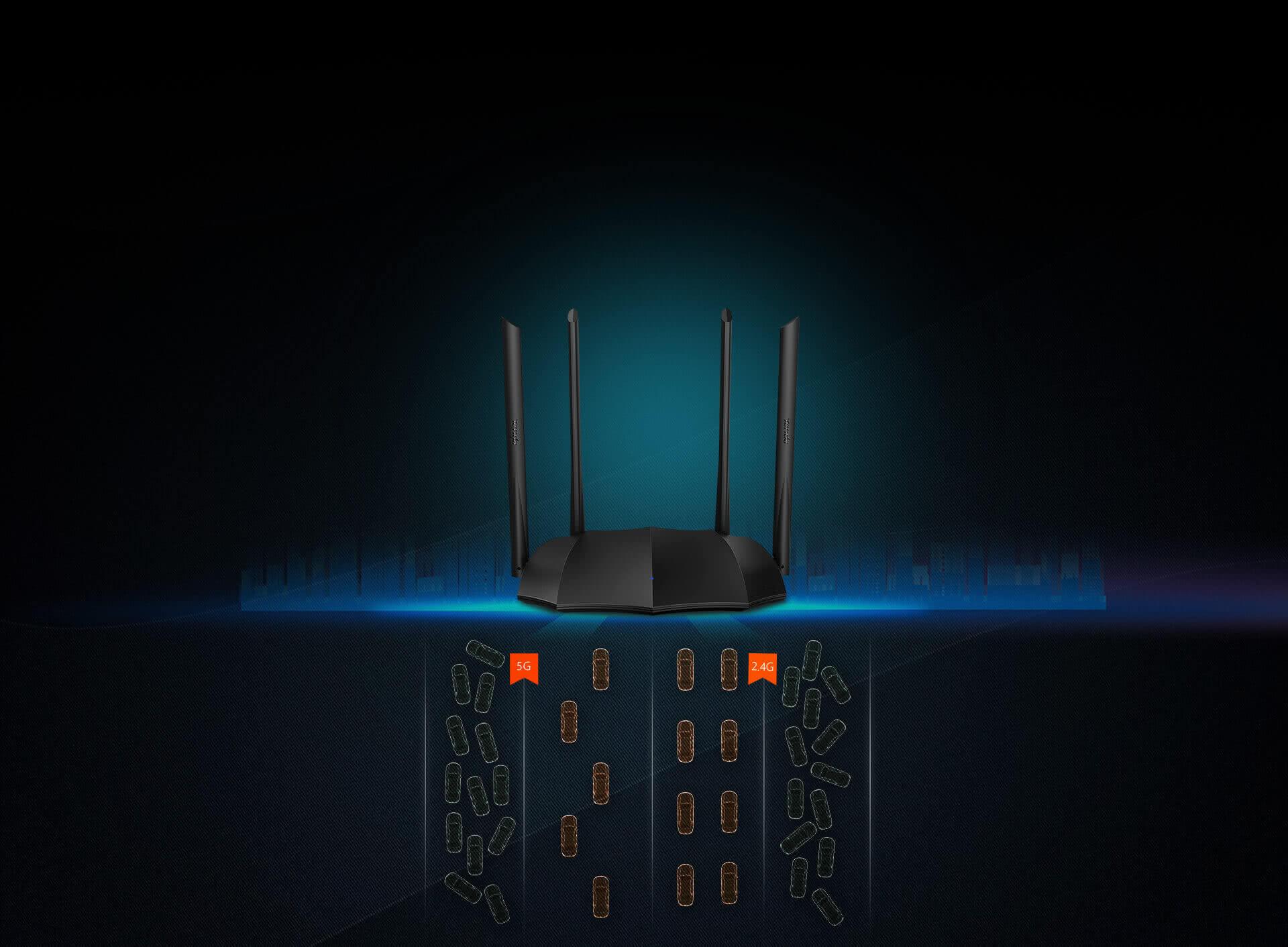 Tenda AC8 Dual Band 5Ghz & 2.4Ghz Gigabit Wifi Router