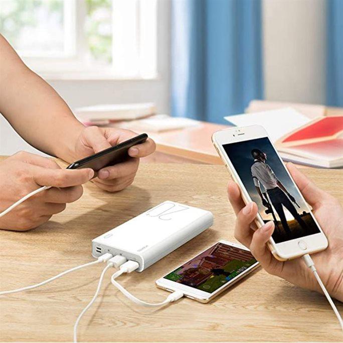 20000mAh Romoss Sense 6 Plus Powerbank | QC3.0 Adaptive Fast Charging Battery Bank
