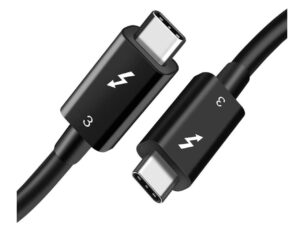1 Meter Thunderbolt 3 USB 4 Cable | Male USB Type C to Male USB Type C PD 100W Cable