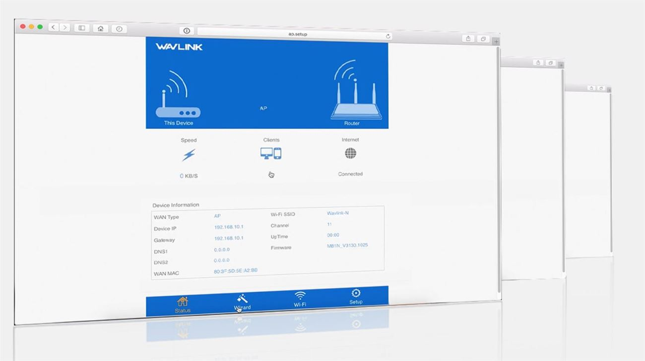Dual-band Outdoor Wifi Extender/AP/Router with PoE and High Gain Antennas | Wavlink AC600